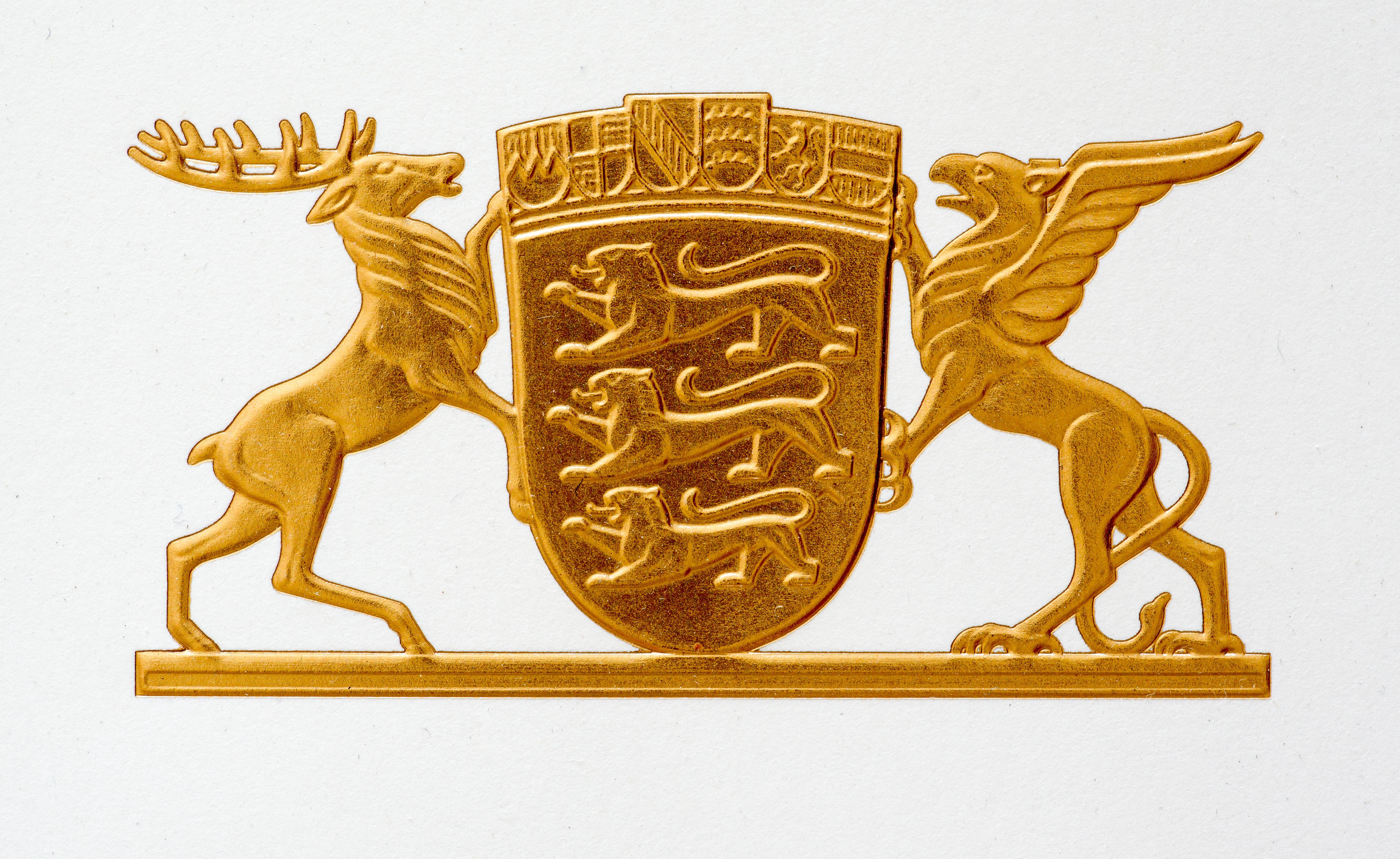 Prägefolie_Wappen gold