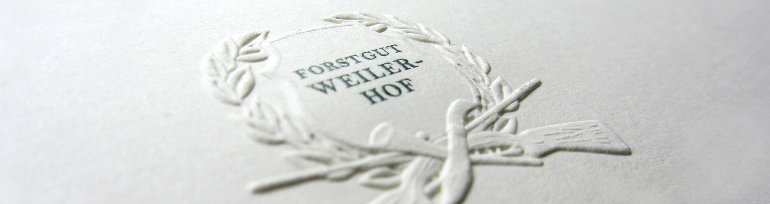 Blind Embossing Forest Property Weilerhof