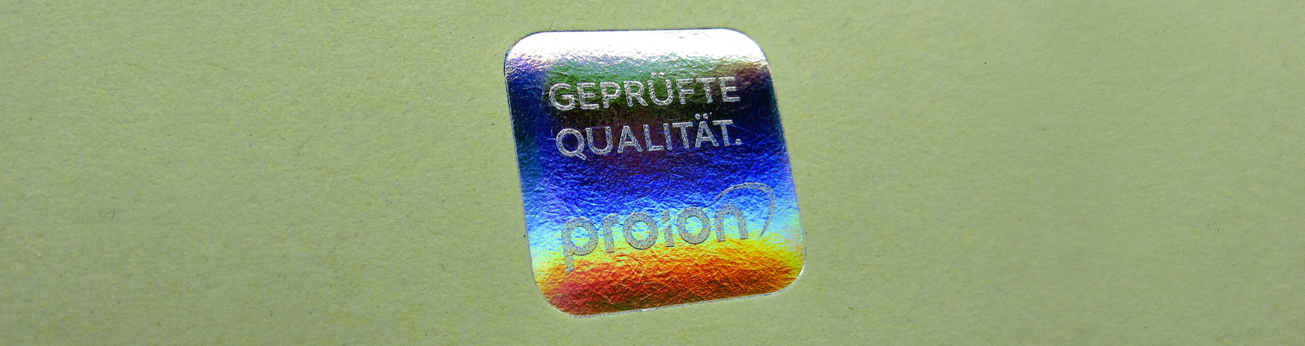 Foil Stamping Proion