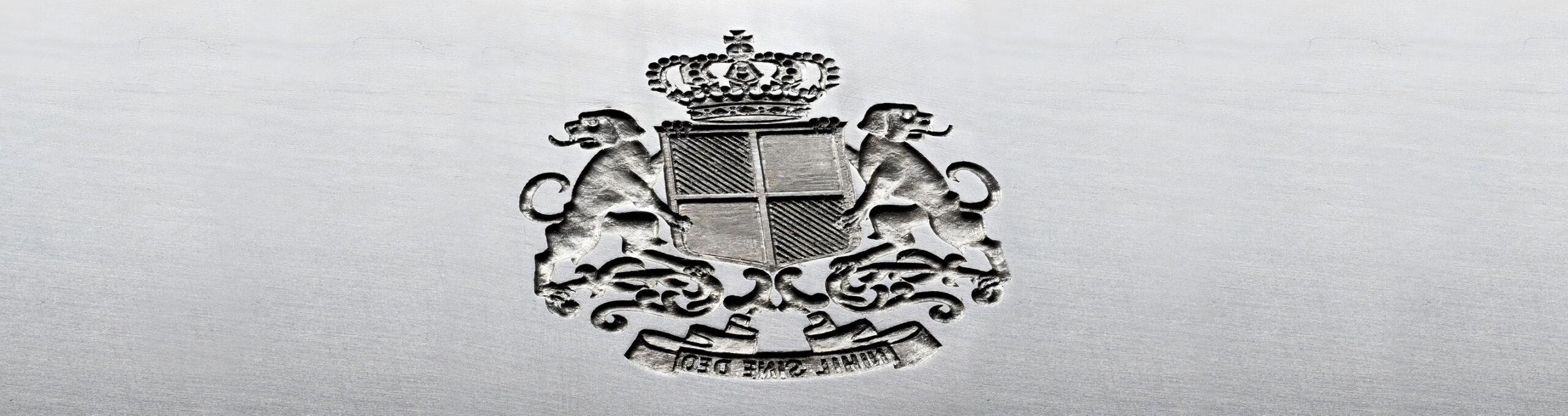 Stahlstichgravur Sigmaringen
